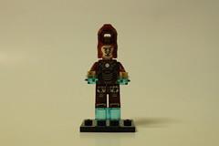 LEGO Marvel Super Heroes Iron Man: Extremis Sea Port Battle (76006) - Iron Man MK XLII (MK 42)