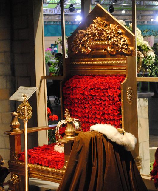 rose throne