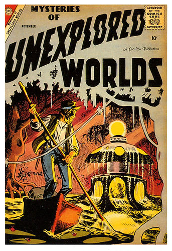 Mysteries of the Unexplored Worlds by paul.malon