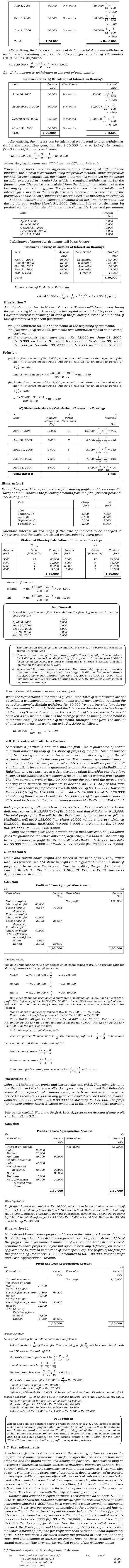 NCERT Class XII Accountancy I Chapter 2 - Accounting for Partnership : Basic Concepts