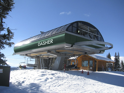 New Dasher lift at GP
