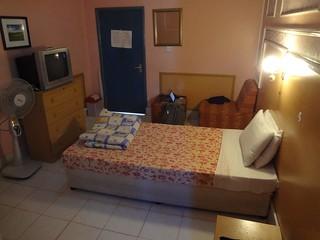 Quarto do Hotel Oriental em Hargeisa