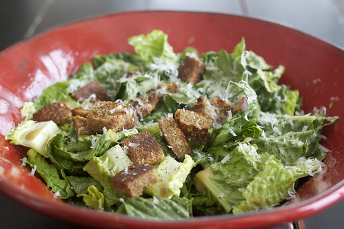 The Best Cesar Salad. Ever.