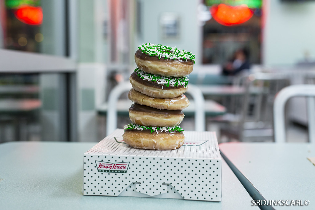 krispy kreme tower