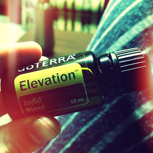 Getting oil high before the show.  #rickilakebitches #doterra