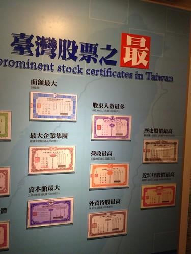 台灣股票之最