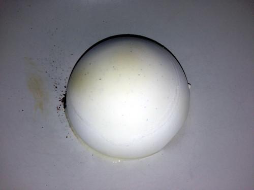 Vanilleis med sorte oliven og lakrids