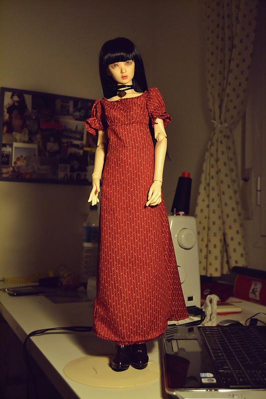 henriette y su nuevo vestido