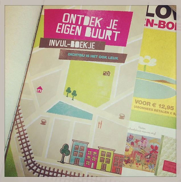 Little book in the Dutch Flow: discover your own neighbourhood. Would love to know who is using it