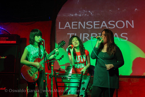 Vocalistas de Wolf Season, Lucy Turbinas y Leannot @ Black Dog, Qro!