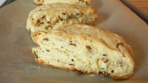 Bacon Cheese Rosemary Scones 19