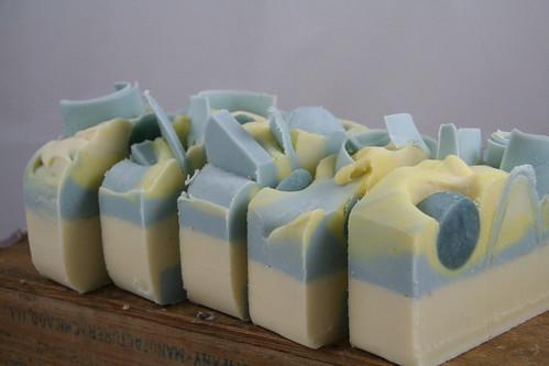 Blueberry Lemon Verbena Soap - The Daily Scrub (Mar 2013)