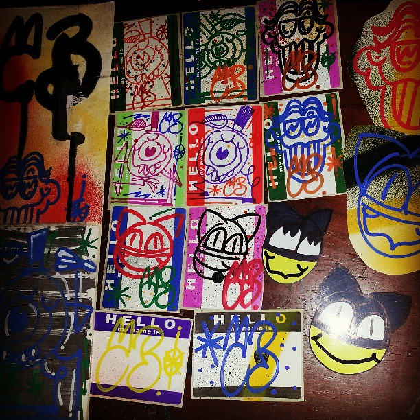 Dope pack frm @cathantz #stickers #pack #trade #slaps #thanku #worldwide