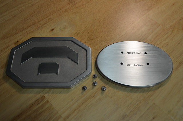 custom emblems by diaz fabrication front grille and rear. Black Bedroom Furniture Sets. Home Design Ideas