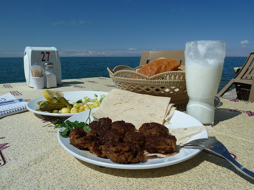 Lunch on the shores of Lake Van by mattkrause1969