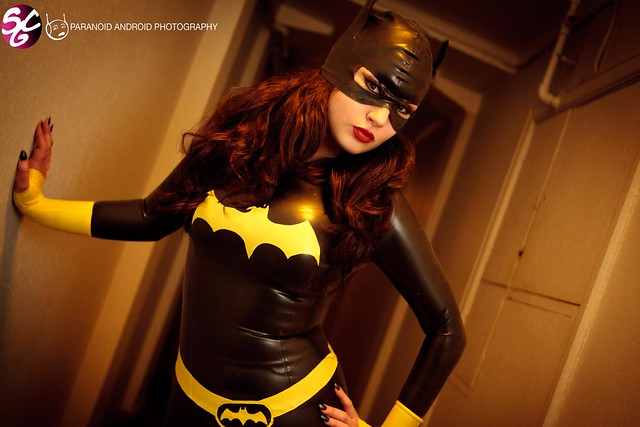 Ivy Pearl as Batgirl Latex