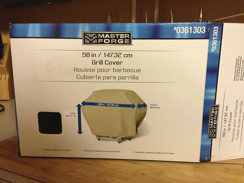 Master Forge Grill Cover for Q300 Q320 That Allows For ...