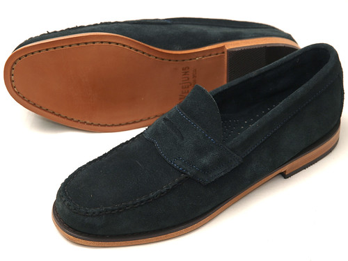 G.H.Bass / Logan Navy Suede