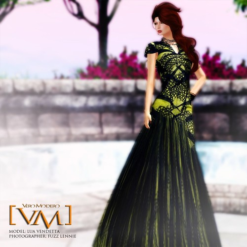 [VM] VERO MODERO _ Kaleidoscope Banded Dress