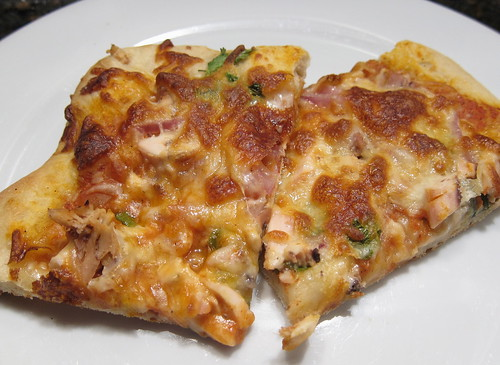 Indian Chicken Pizza