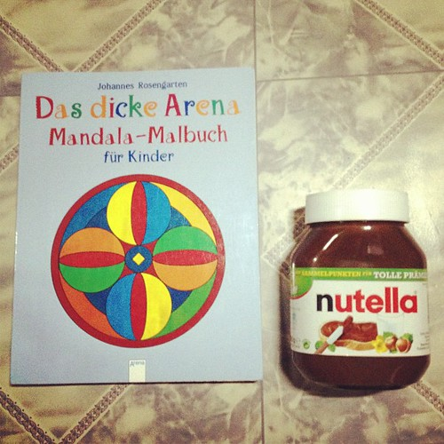 Danke @zhlryz Che for the humungous Nutella and coloring book!