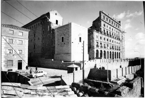 Reconstrucción del Alcázar © Fondo Rodríguez. Archivo Histórico Provincial. JCCM. Signatura Album4-1768