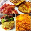 Brunch at home! My version of Nasi Goreng and French Toast. Happy tummies!  #SpringBreakers