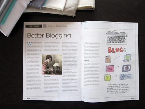 Better Blogging article