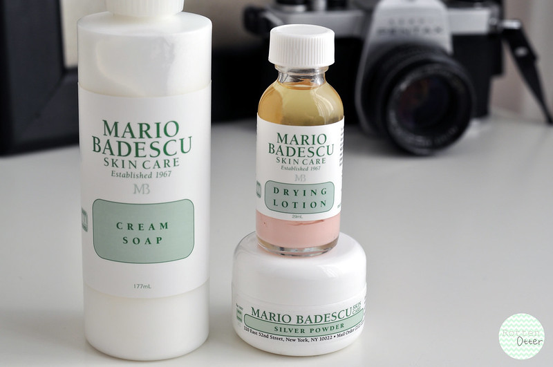 new skin care additions mario badescu drying lotion cream soap silver powder rottenotter rotten otter blog