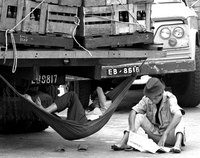 Siesta time in Saigon, 1970