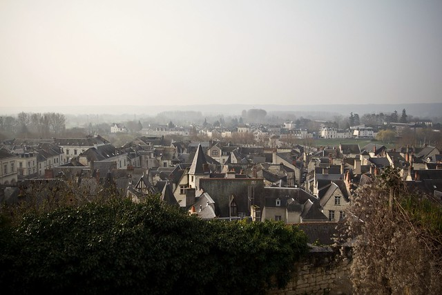 View of Chinon from the Forteresse Royale