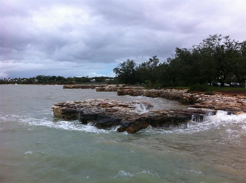 Nightcliff at high tide