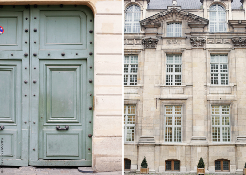 Stroll in le Marais by Carin Olsson (Paris in Four Months)