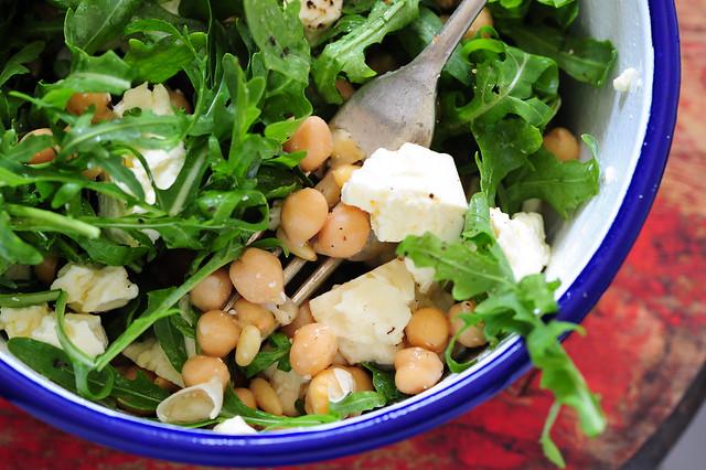 chickpea feta & pinenut salad-2