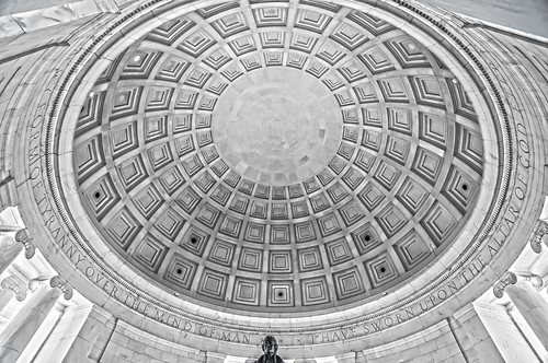 Thomas Jefferson Memorial, in Washington, DC, USA by DigiDreamGrafix.com
