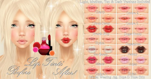 .tsg. Lip Tinté for Cosmetic Fair by ⓢⓤⓖⓐⓡⓟⓛⓤⓜ™