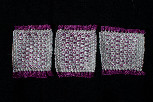 Weaving Project 27: Post blocking