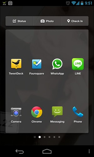 App Launcher - Facebook Home
