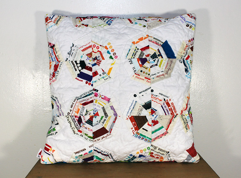 spiderweb pillow cover