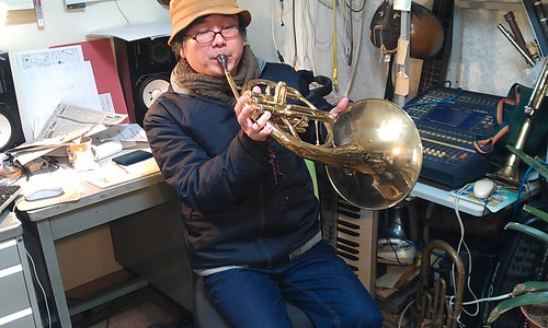 "new video! ""Mellophone Blues""001 by Kanda Mori"