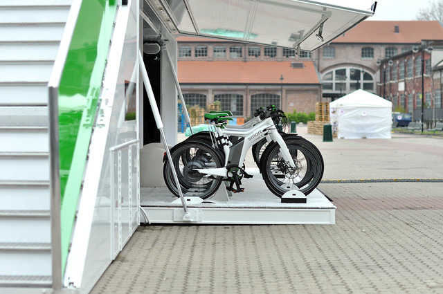 smart ebike design tour - Milan