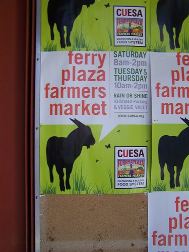 Poster, Ferry Plaza Farmers Market