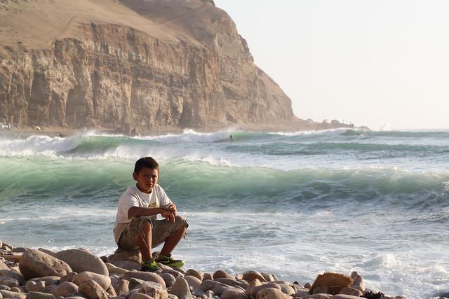 Photo:Down by the Sea, La Herradura By:geezaweezer