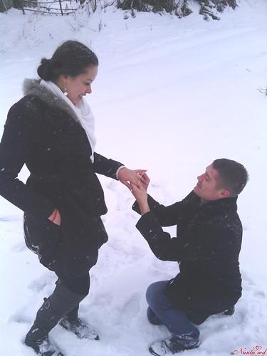 """Concurs """"Cea mai originala cerere în căsătorie!!!"""" > Alexandru & Cristina"""