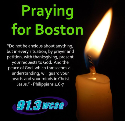 WCSG Praying for Boston