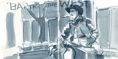 39th Worldwide Sketchcrawl...Cowboy John