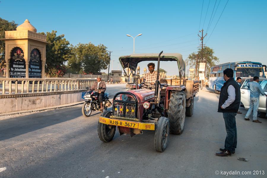 Джайсалмер, песчаный город в Индии
