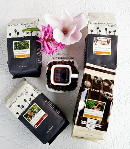 Portland Roasters Coffee: Organic Mexican, Sumatara, Ethiopia