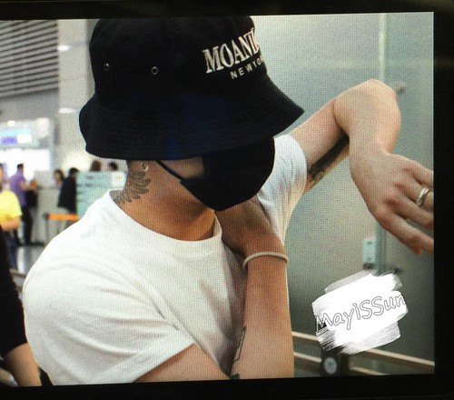 BIGBANG Departure Seoul Incheon to Foshan 2016-06-10 (132)