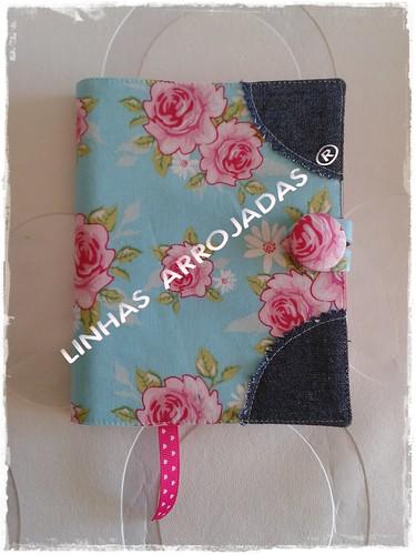bloco de notas tecido tilda by Linhas Arrojadas Atelier de Costura ® Trademark